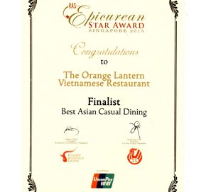 Best Asian Dining Restaurant Singapore